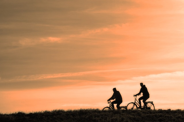 cyklisti za soumraku.jpg