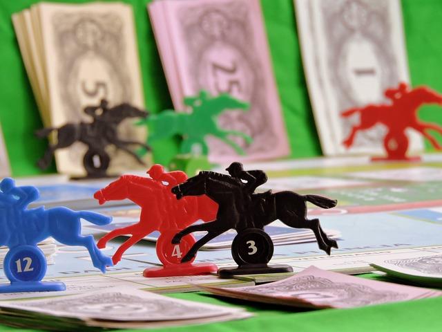 hra koňské dostihy