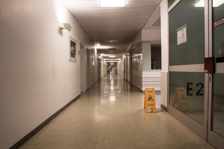 vinylová podlaha v nemocnicích