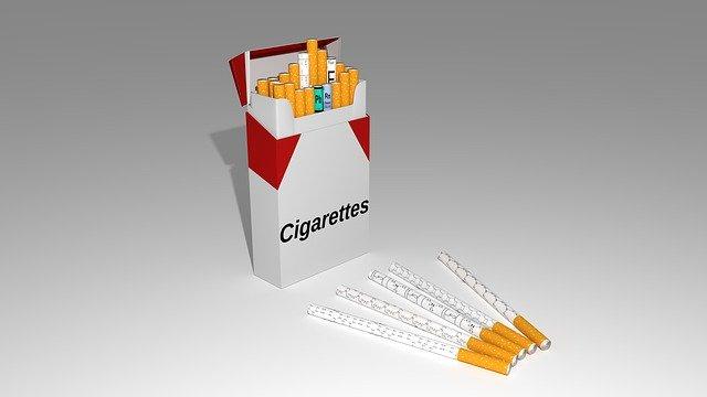 krabička cigaret