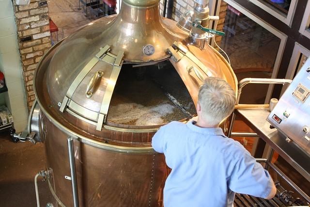 pohled do pivovaru