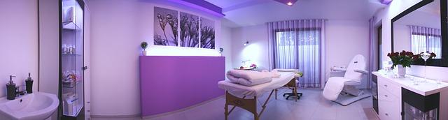 kompletní masážní salón